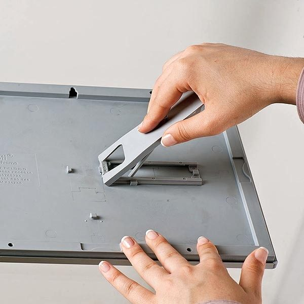 Klapprahmen Opti Frame 14mm DIN A6 Postermaß br mit Rückenstütze 7