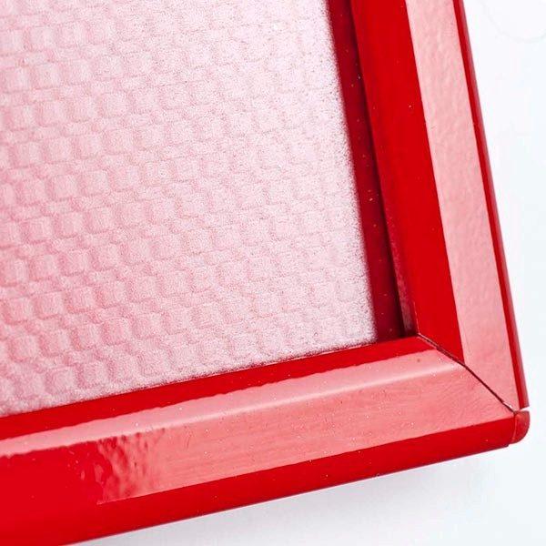 Klapprahmen Opti Frame Rot DIN A4 Postermaß br mit Rückenstütze 7