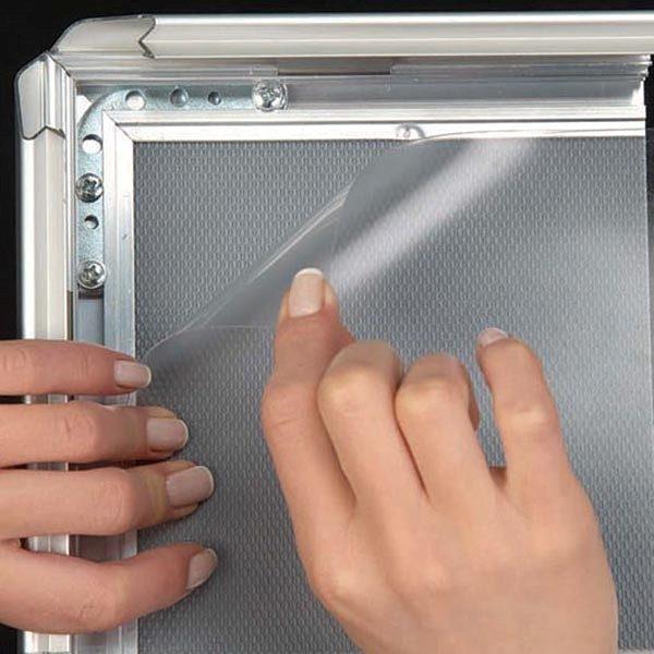 Kundenstopper Indoor 32mm DIN A0 Postermaß 2