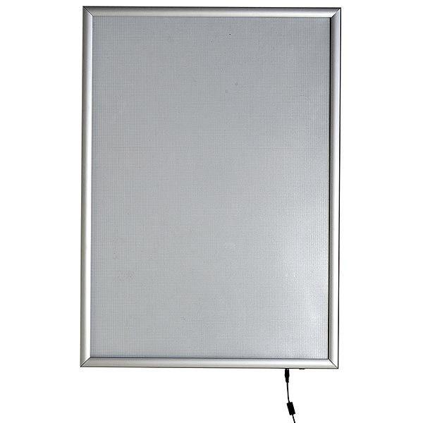 LED Leuchtrahmen Premium einseitig 25mm DIN B1 Postermaß einseitig 2