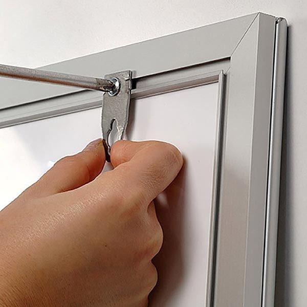 LED Leuchtrahmen Premium einseitig 25mm DIN B1 Postermaß einseitig 3