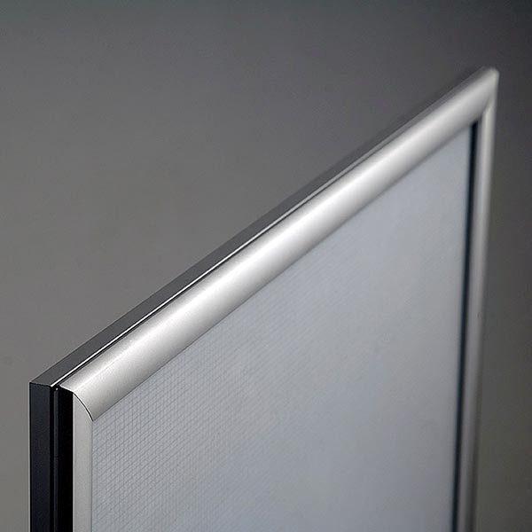 LED Leuchtrahmen Premium einseitig 25mm DIN B1 Postermaß einseitig 8