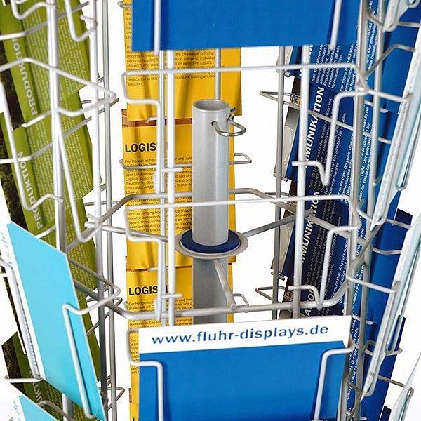Postkartenständer PKR 60 silber 1