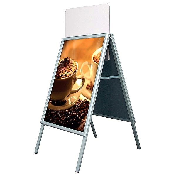 Topschild für Kundenstopper A Board Classic DIN A1 Postermaß 2