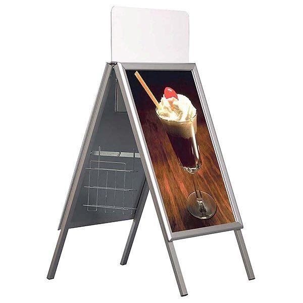 Topschild für Kundenstopper A Board Classic DIN A1 Postermaß 4