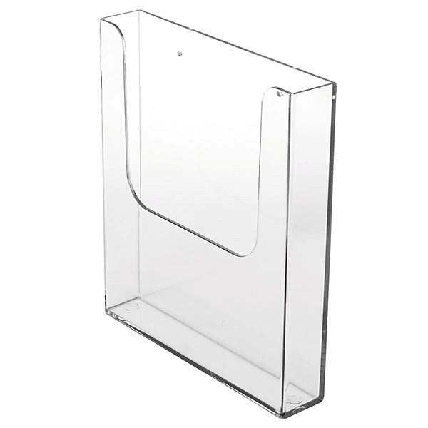 Wandprospekthalter DIN A5 Hochformat VPE 45 Stück 1