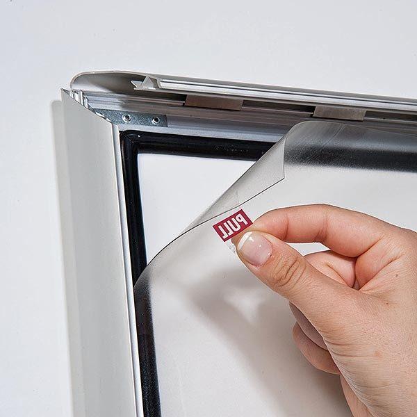 Wasserfester Klapprahmen mit Sicherungsschraube 35mm DIN A2 Postermaß 4