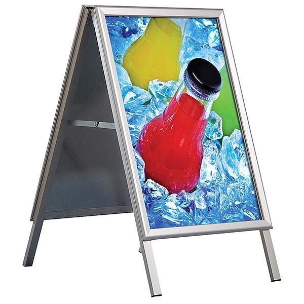 Kundenstopper Outdoor Wasserfest 32mm DIN B1 Postermaß