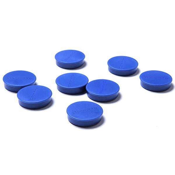 magnete blau 35mm 8 stück