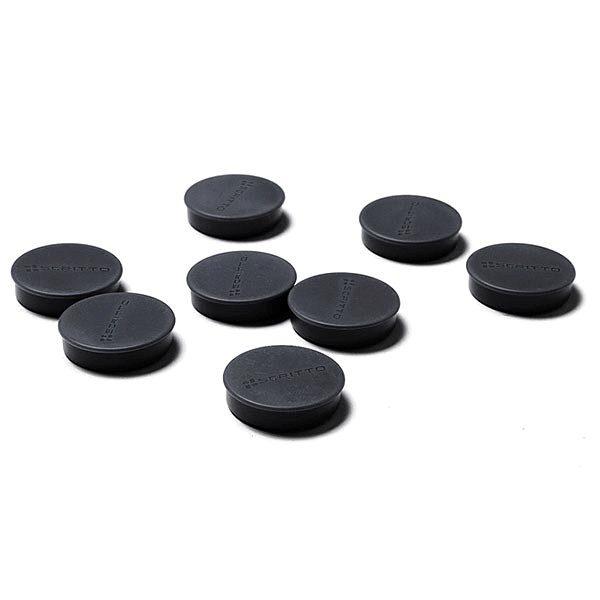 magnete schwarz 35mm 8 stück
