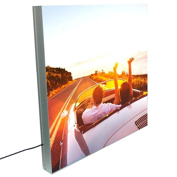 maxiframe led 100 einseitig xxl format 2500 x 4000 mm