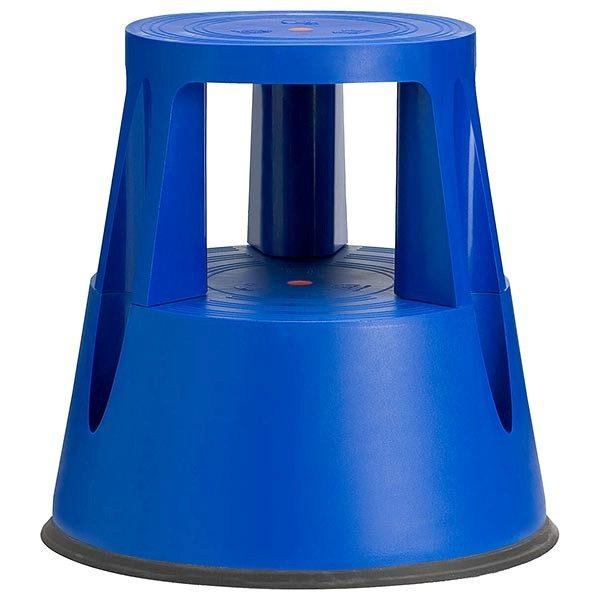 rollhocker step up blau 41cm höhe 150 kg tragkraft