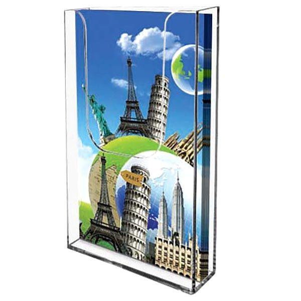 Wandprospekthalter DIN A4 Hochformat, VPE 30 Stück