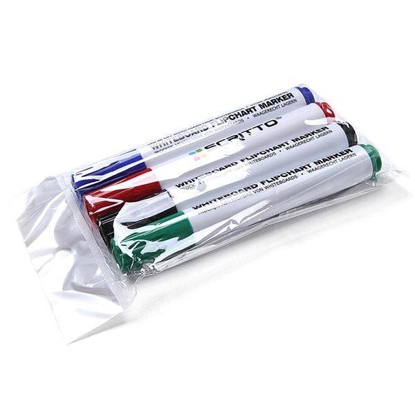 whiteboardmarker 4er set rot blau grün schwarz